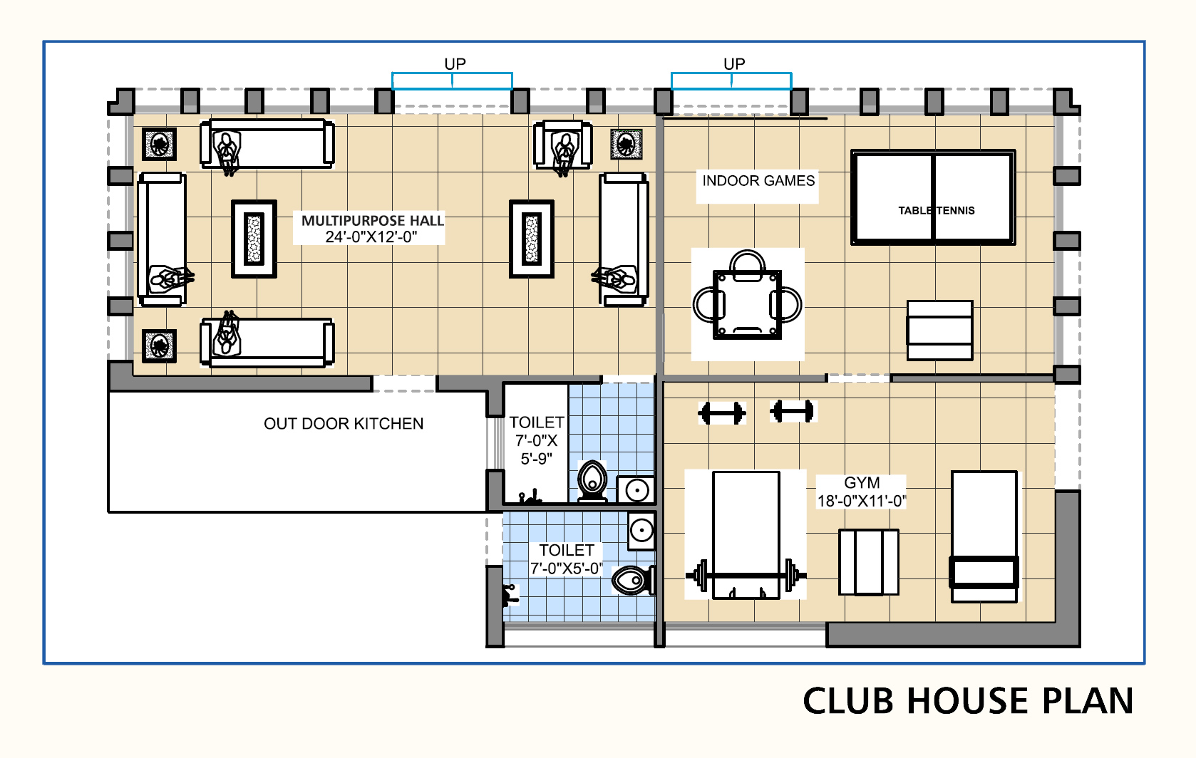 Ananta builders for Clubhouse floor plans